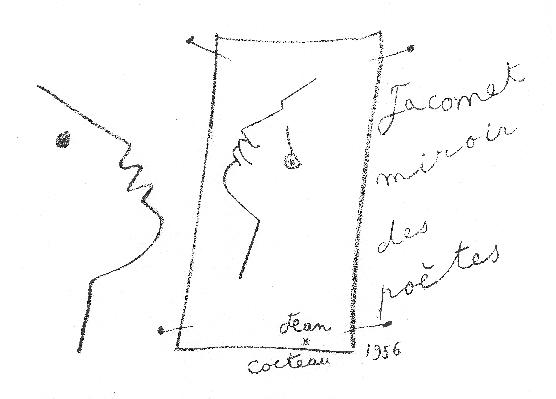 Jean Cocteau 1956.